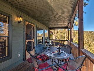 'Alpine Air Cabin' In Ruidoso w/Amazing Mtn Views!
