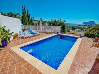 Argentario-4 - sea view villa with private pool in Benissa