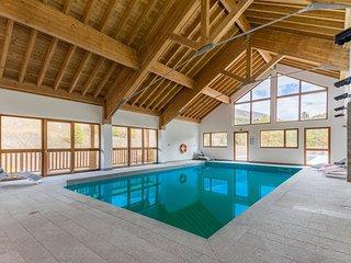 Appartement spacieux et cosy 8p, a 50m des pistes ! Acces piscine