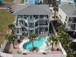OSH816: Luxury 5 BR, 5.5 Bath Home w/ Incredible Gulf View, Private Pool