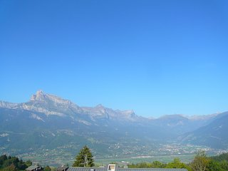 Grand Studio | vue Mont Blanc et terrasse privative !