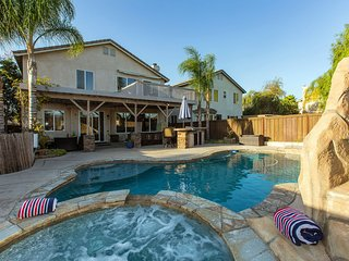 Stunning Chantemar Vacation Home Wine Country with Pool/Spa/Slide/Fire/Gameroom