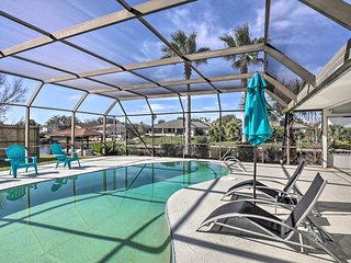 Canalside Palm Coast Home w/ Dock & Pool!
