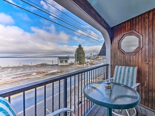 Lincolnville Studio w/Private Balcony&Ocean Views!