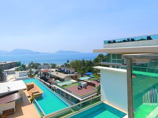 3 BDR Sea View Apartment Pool and Gym in Patong