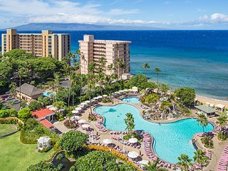 1 BDRM~ MAUI PARADISE AWAITS YOUR ARRIVAL... BEAUTIFUL KA'ANAPALI BEACH CLUB~