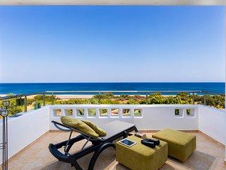 Lachania Villa Sleeps 7 with Pool and Air Con - 5769466