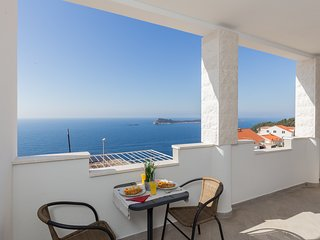Apartments Doris -Standard One Bedroom Apartment with Balcony and Sea View