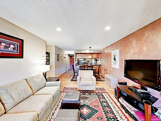 Ski-In/Ski-Out 2BR View Condo at Breckenridge w/ Balcony & Fireplace