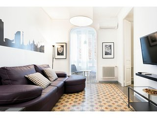 BARCELONA | APT NEAR SAGRADA FAMILIA FOR 6¤