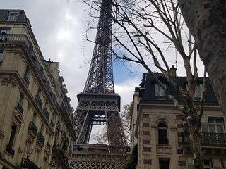 Eiffel Tower Shadow Apartment