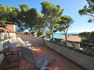 Con solarium vista mare, terrazza - Villa Marina - Quadri Libeccio