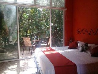 La Cueva del Tapir & Ki ool Eco-hotel with a Private Cenote, nature harmony.
