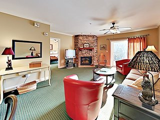 Walk to Tram! Prime Downtown Locale w/ Pool, Hot Tub & 2 Private Balconies