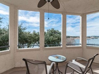 Lake Travis Views from Wrap-Around Patio! Gated Community w/Pools, Spa & Tennis