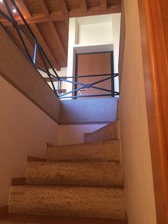 Scale verso il piano inferiore
