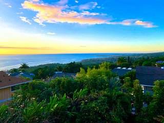 Panoramic Ocean, Sunset, and Coastline Views, Private Pool, Spa, 4+3, 2 Lanai's
