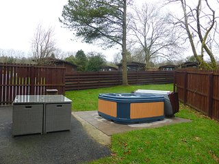 Hazel Lodge 26 with Hot Tub