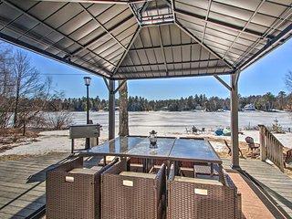 NEW! Locke Lake Home w/Private Beach, Dock & Rafts