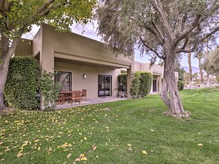 NEW! Cathedral City Condo w/Patio-Pool+Golf Access
