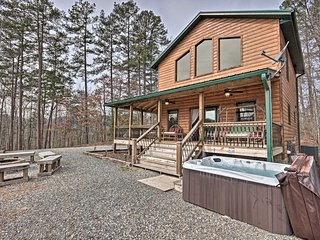 NEW! Almond Joy Cabin by Fontana Lake, Bryson City