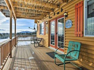 NEW! Cozy Jefferson Cabin w/Picturesque Mtn Views!