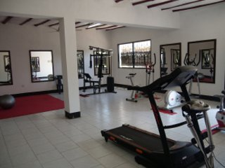 Well equipped Gym. Please ask for the keys at the reception