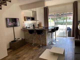 Appartement Maenat 3 etoiles 3 cles a 200M de la plage et 10min de Bastia