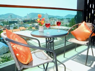 Trendy sea view studio in Patong !