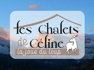 LES CHALETS DE CELINE - Chalet Sylvaine - La Joue du Loup