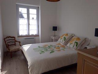 Appartement en centreville a 3.5 kms  de la mer vue sur  le chateau de Talmont