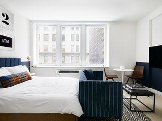 Cozy Studio at Wall Street Floor #5 by Sonder