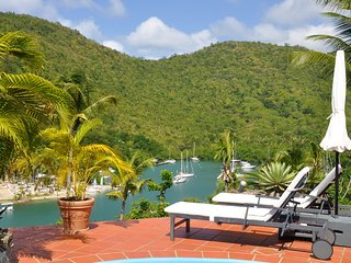 The luxury Clarance Studio at Marigot Palms
