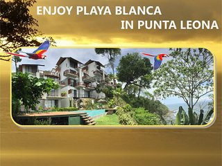 ENJOY ❤️ PLAYA BLANCA IN PUNTA LEONA 3BR CONDO - STUNNING SUNSETS INCLUDED