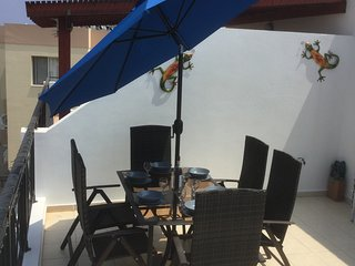 Our Cyprus Apartment Luxurious & Modern 40ft Balcony 10min walk to strip & beach