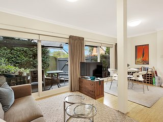 Open plan, light filled, spacious and private