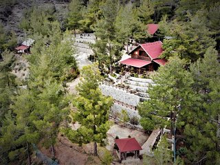 3 Chalets in Spilia near Troodos