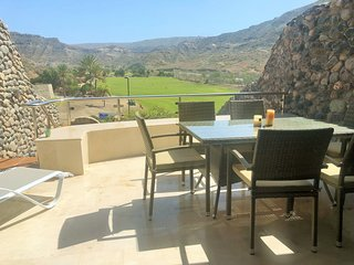 Anfi Tauro Golf Duplex with outdoor jacuzzi and great views.