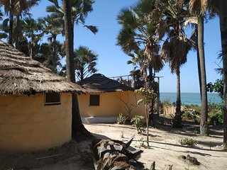 South Gambia  1 Paradise african Roundhouse at Atlantic