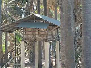 pure natur Treehouse 3Unspoiled atlanticview & Sound , 25 m. from ParadiseBeach