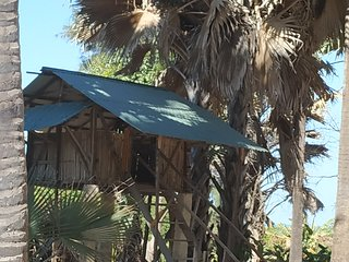 Treehouse2 AtlanticView & Sound at Unspoiled beach South Gambia