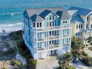 Ocean View Ln 100 Oceanfront! | Private Pool, Hot Tub, Elevator, Game Equipment,