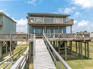 3 - 6 Bedroom - Large Beach Front Homes Perfect for Family Reunions or Retreats