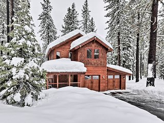 Mountain Modern Truckee Home w/Deck & Views!