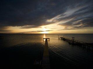 Copano Height - Copano Bayfront, Sunset, Fishing, Sunbathing
