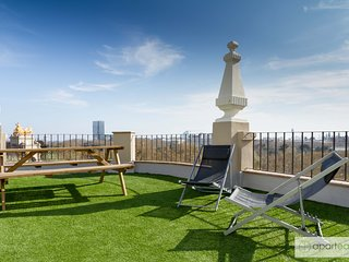 CIUTADELLA PARK, 4 bedrooms, top views