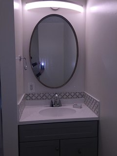 One of four brand new bathrooms!