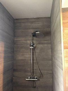 Shower in annex wet room