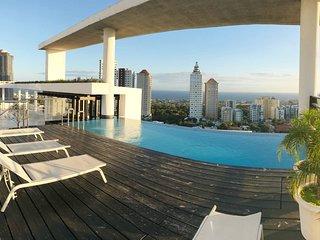 Luxurious 7th Floor With Ocean Views In Los Cacicazgos, Santo Domingo