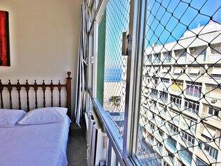 Apartamento Temporada na quadra da praia no Rio